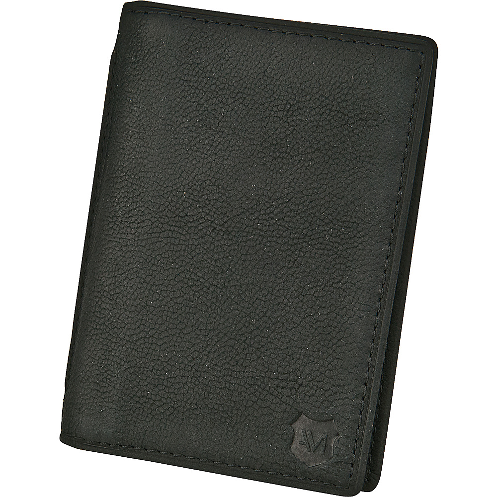 Andrew Marc Collection Sheridan Folding Carrier Black - Andrew Marc Collection Mens Wallets