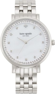 kate spade watches Monterey Watch Silver - kate spade watches Watches