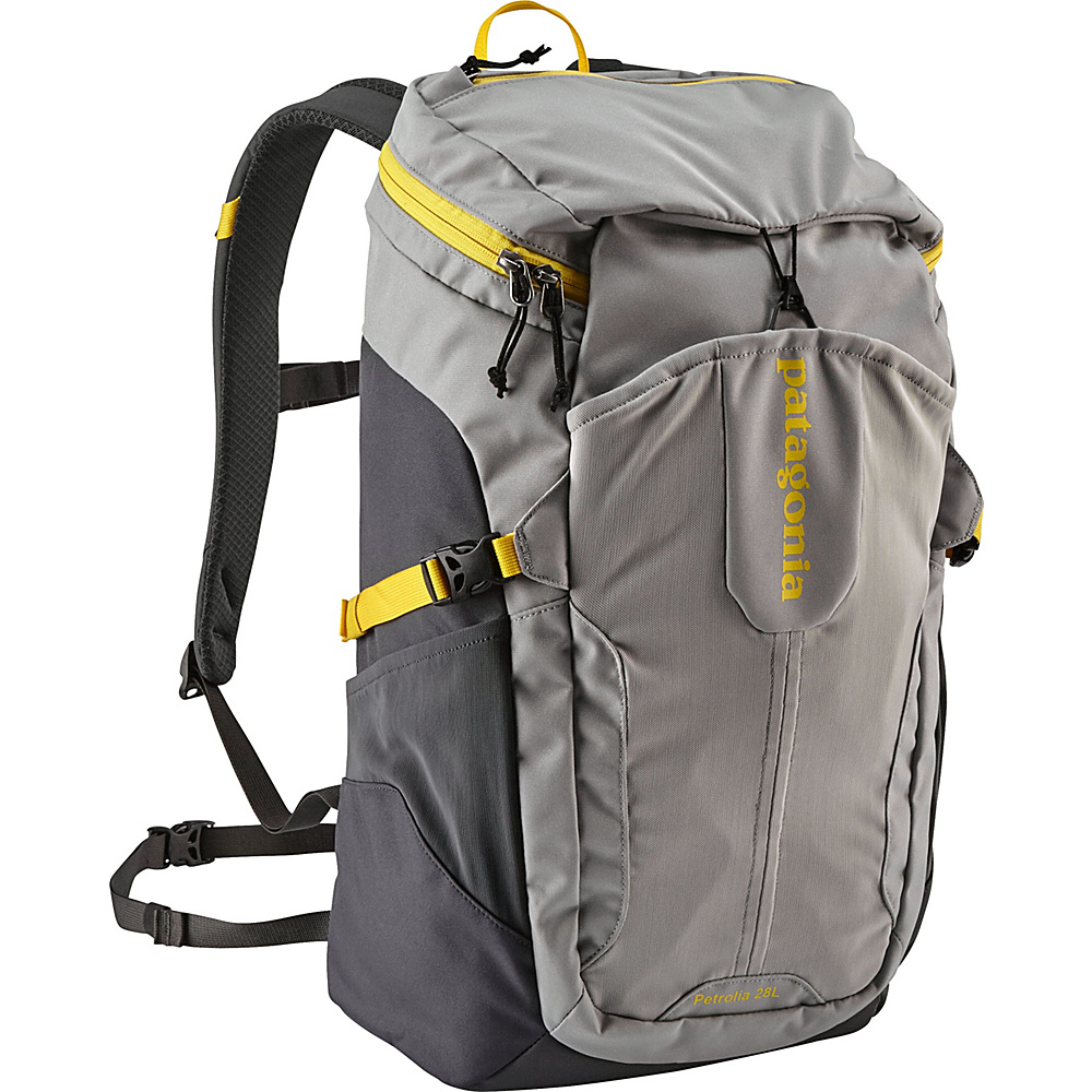 Patagonia Petrolia Pack 28L Forge Grey/Chromatic Yellow - Patagonia Business & Laptop Backpacks - Backpacks, Business & Laptop Backpacks