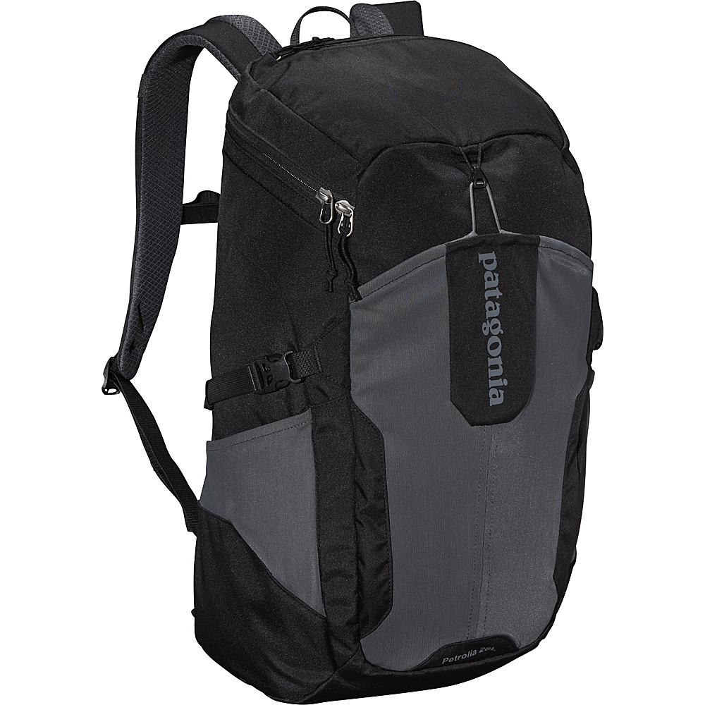 Patagonia Petrolia Pack 28L Black Patagonia Business Laptop Backpacks