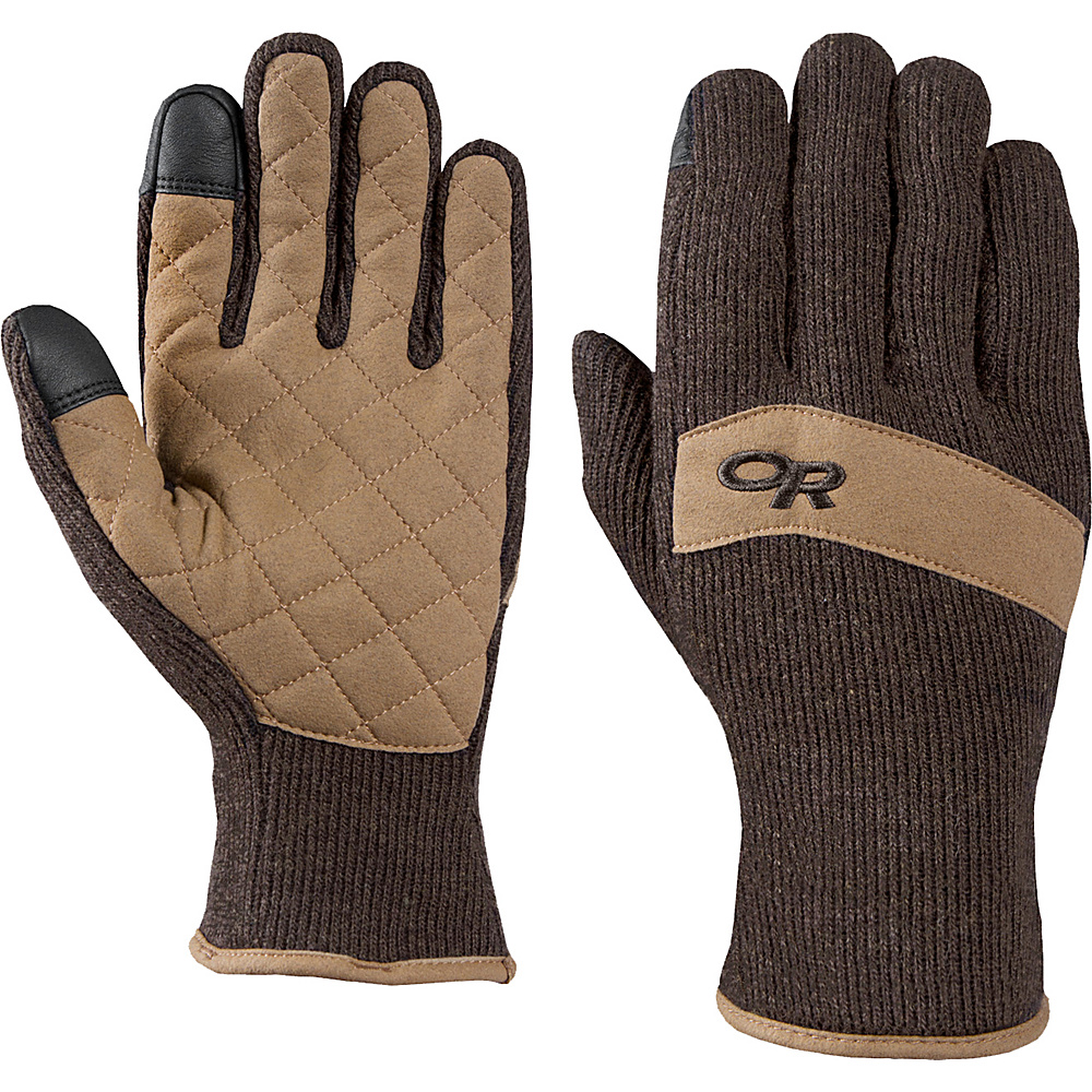 Outdoor Research Exit Sensor Gloves L - Charcoal - Outdoor Research Hats/Gloves/Scarves - Fashion Accessories, Hats/Gloves/Scarves