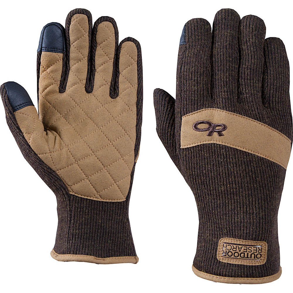 Outdoor Research Exit Sensor Gloves L - Earth - Outdoor Research Hats/Gloves/Scarves - Fashion Accessories, Hats/Gloves/Scarves