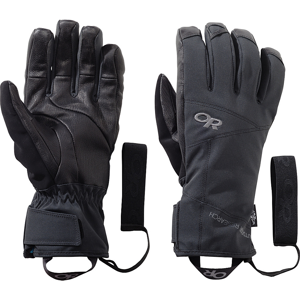Outdoor Research Illuminator Sensor Gloves XL - Black - Outdoor Research Hats/Gloves/Scarves - Fashion Accessories, Hats/Gloves/Scarves