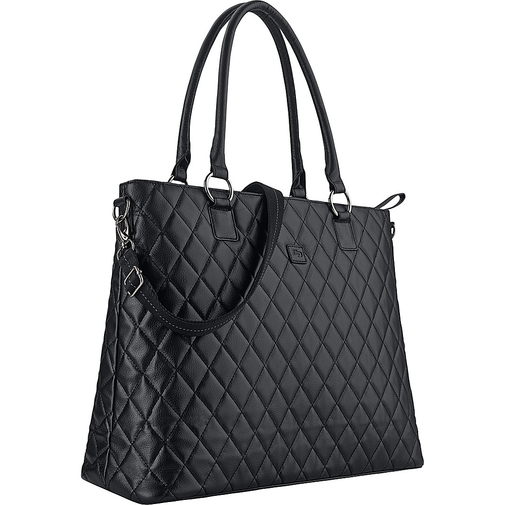 SOLO Classic 15.6 Laptop Tote Black SOLO Women s Business Bags