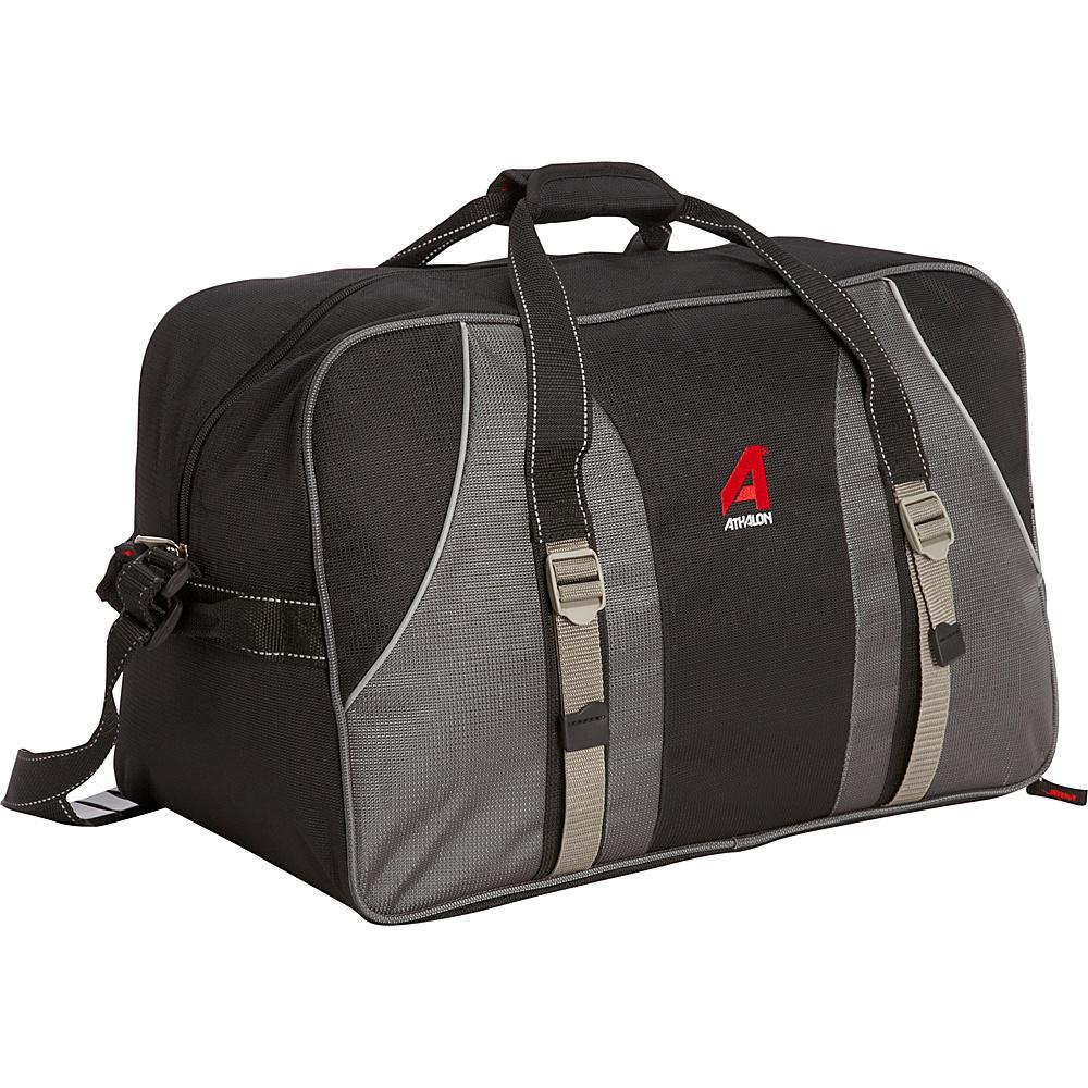 Athalon Long-Haul Carryall Black - Athalon Travel Duffels