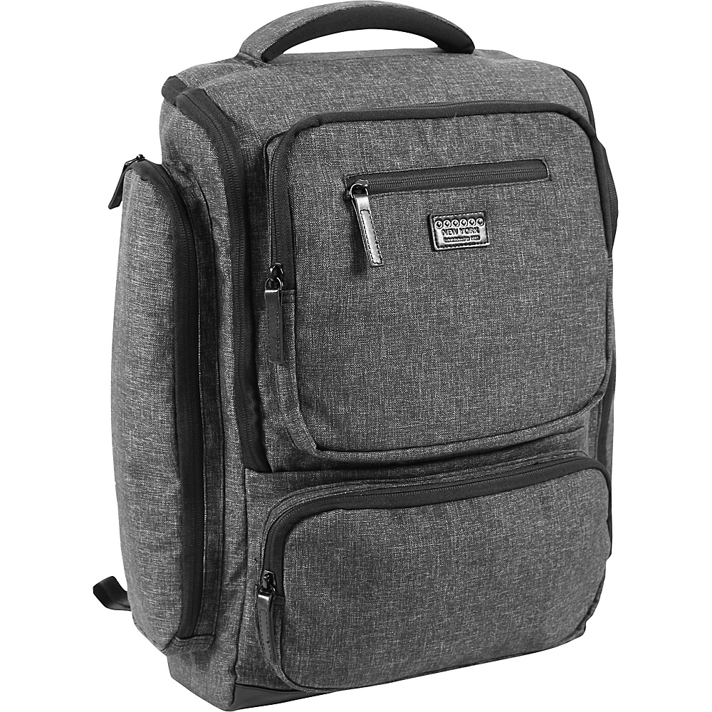 J World New York Novel Laptop Backpack Black - J World New York Business & Laptop Backpacks - Backpacks, Business & Laptop Backpacks