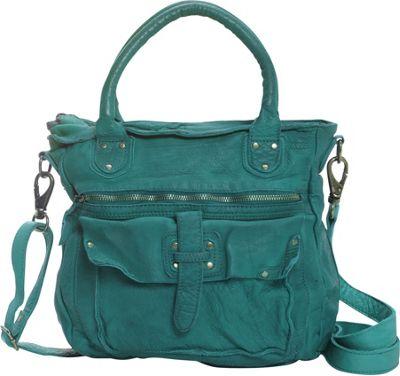 Latico Leathers Walker Satchel Mint - Latico Leathers Leather Handbags