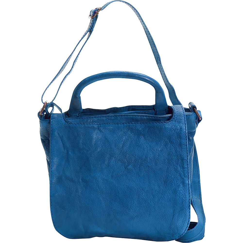 6fc2b0013d2 $127.49 More Details · Latico Leathers Payne Crossbody Crinkle Blue - Latico  Leathers Leather Handbags