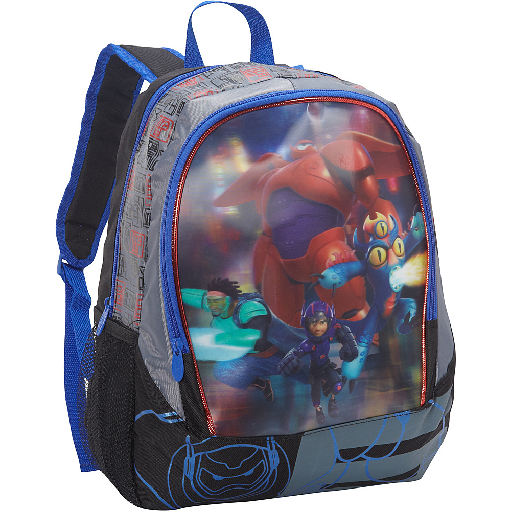 Disney Big Hero 6 Backpack Black