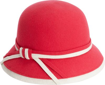 Adora Hats Wool Felt Bucket Hat One Size - Pink - Adora Hats Hats/Gloves/Scarves