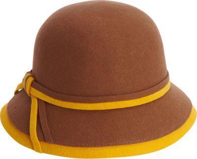 Adora Hats Wool Felt Bucket Hat One Size - Pecan - Adora Hats Hats/Gloves/Scarves