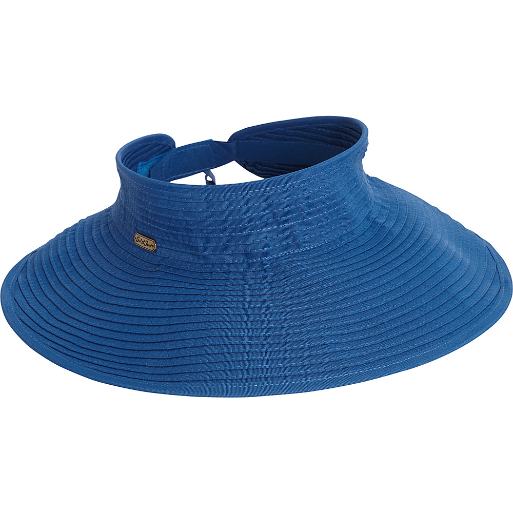 Sun N Sand Roll Up Visor One Size - Royal Blue - Sun N Sand Hats/Gloves/Scarves - Fashion Accessories, Hats/Gloves/Scarves