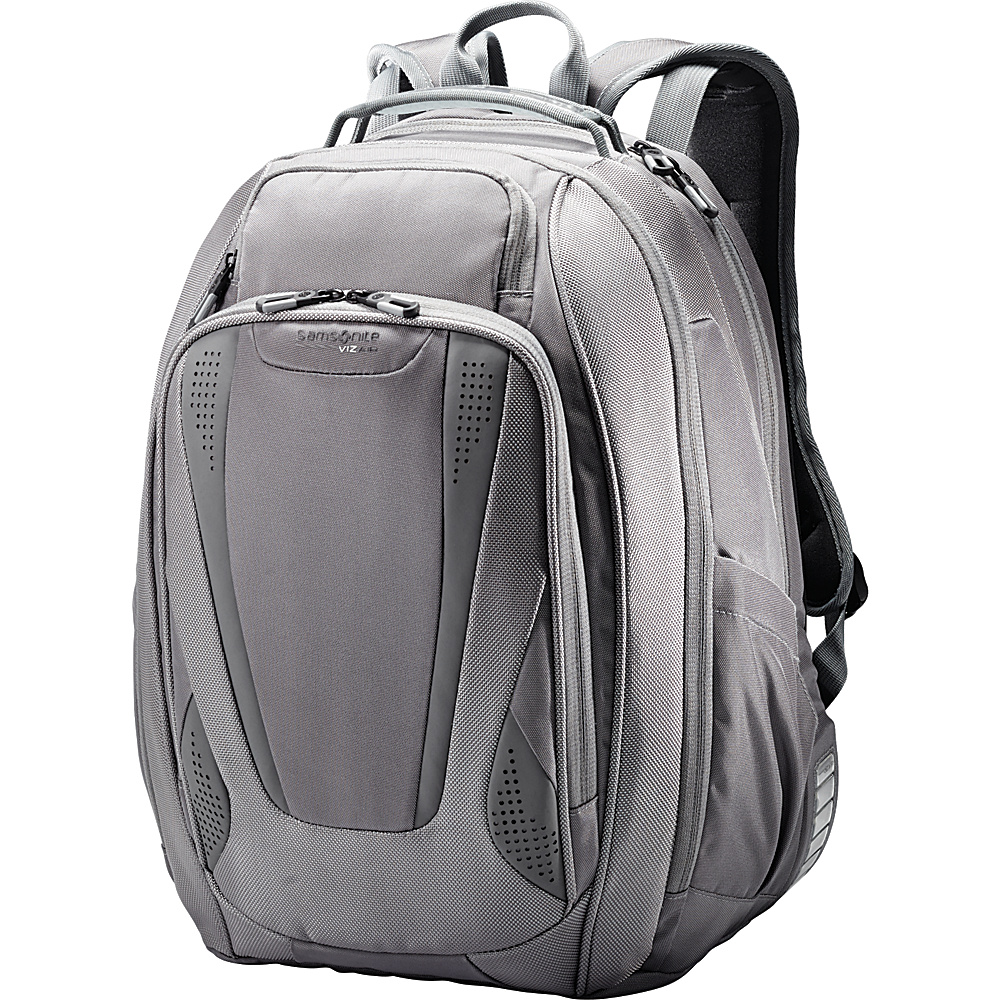 Samsonite VizAir 2 Laptop Backpack Grey Smoke Samsonite Business Laptop Backpacks