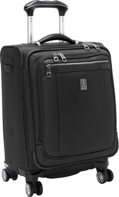 Travelpro Platinum Magna 2 International Expandable Spinner Luggage - 20 inch Black - Travelpro Softside Carry-On