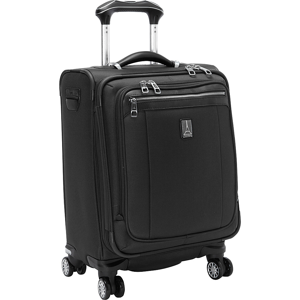 "Travelpro Platinum Magna 2 International Expandable Spinner Luggage - 20"" Black - Travelpro Softside Carry-On"