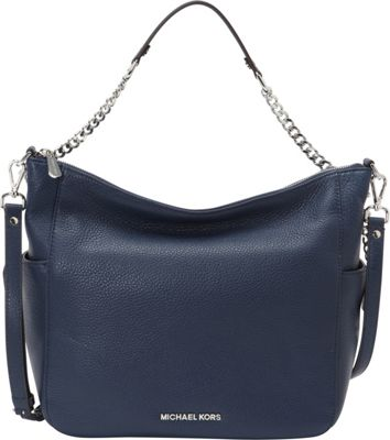 MICHAEL Michael Kors Chandler Large Convertible Shoulder Navy - MICHAEL Michael Kors Designer Handbags