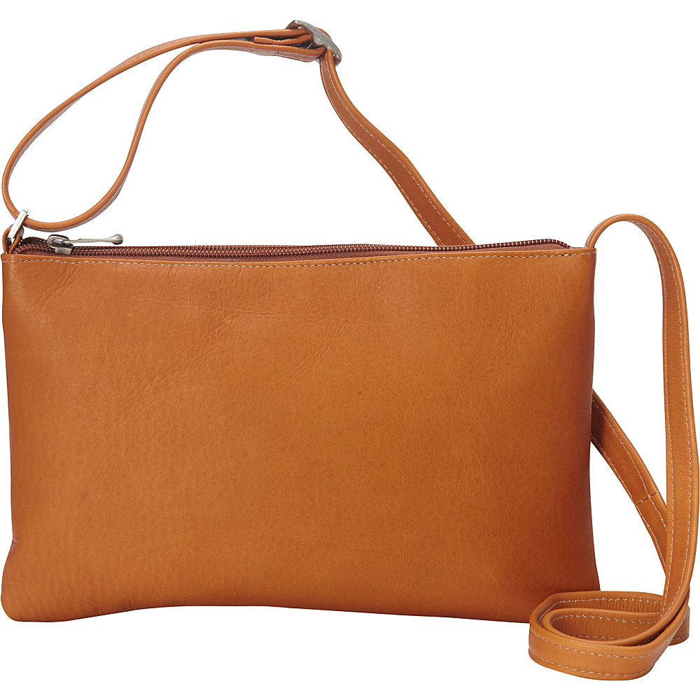 Le Donne Leather Apricot Crossbody Tan - Le Donne Leather Leather Handbags - Handbags, Leather Handbags
