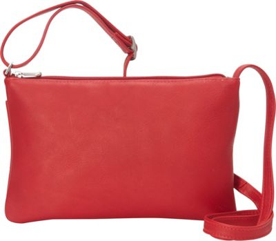 Le Donne Leather Apricot Crossbody Red - Le Donne Leather Leather Handbags