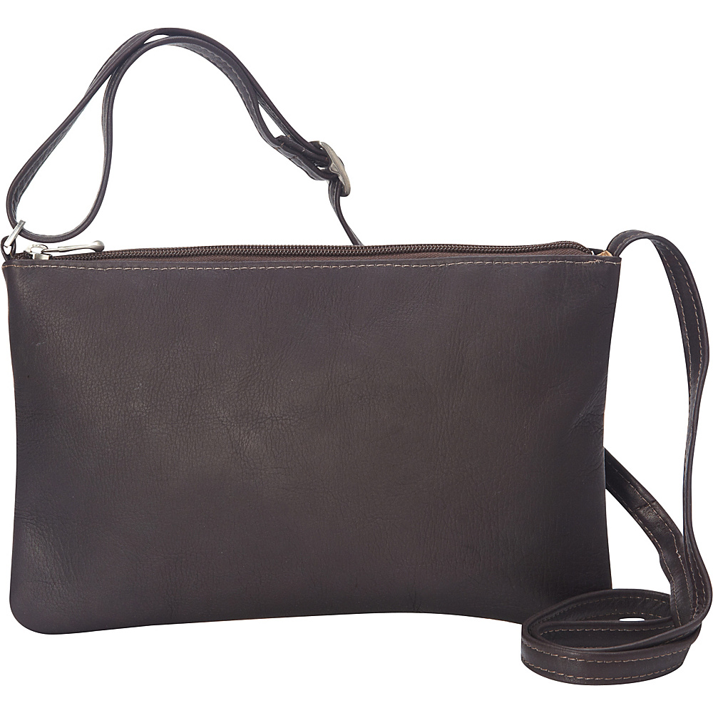 Le Donne Leather Apricot Crossbody Cafe - Le Donne Leather Leather Handbags - Handbags, Leather Handbags