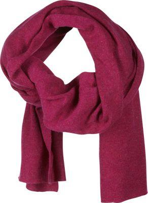 Kinross Cashmere Oversized Scarf Mulberry - Kinross Cashmere Scarves