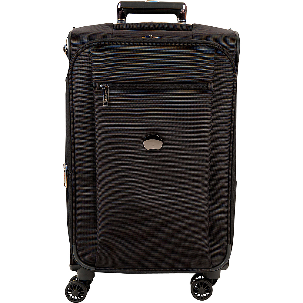 Delsey Montmartre+ Carry-on Exp. Spinner Trolley Black - Delsey Small Rolling Luggage