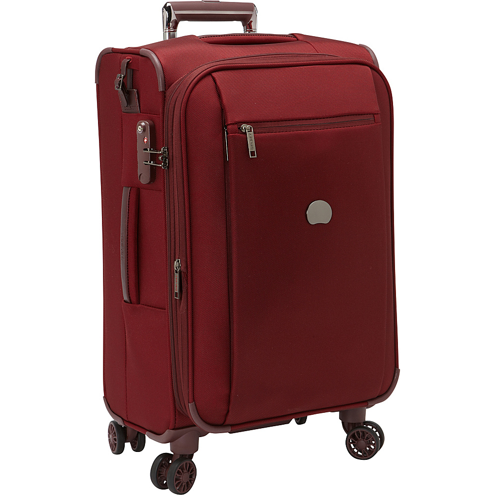 Delsey Montmartre+ Carry-on Exp. Spinner Trolley Bordeaux - Delsey Small Rolling Luggage