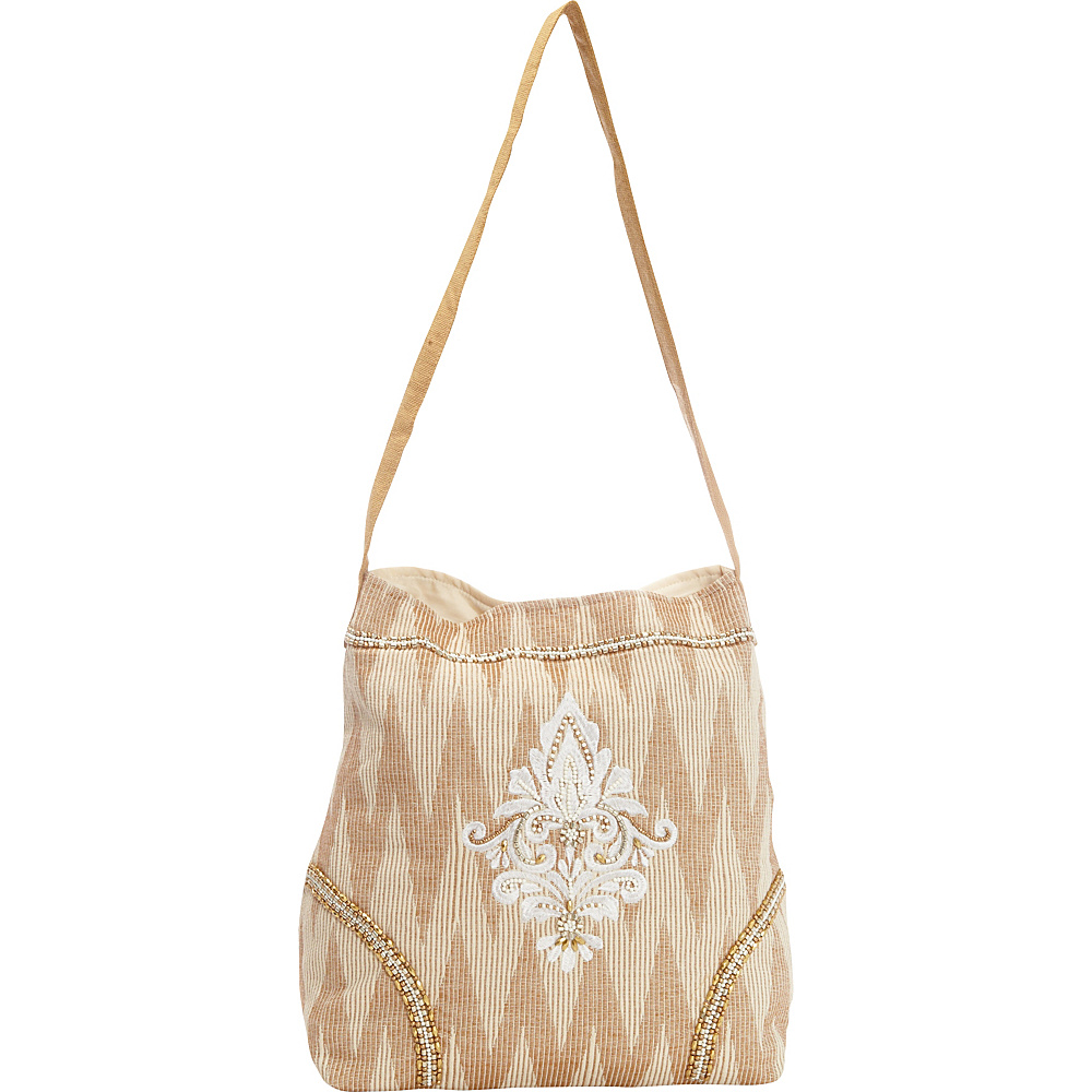 Scully Woven Shoulder Bag Natural Scully Fabric Handbags