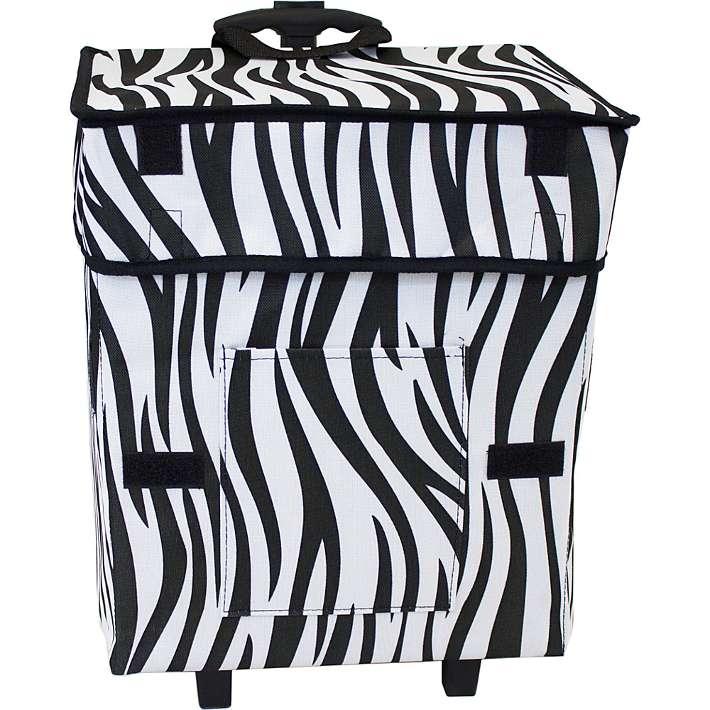 dbest products Gone Wild Cart Zebra Pattern - dbest products Luggage Accessories