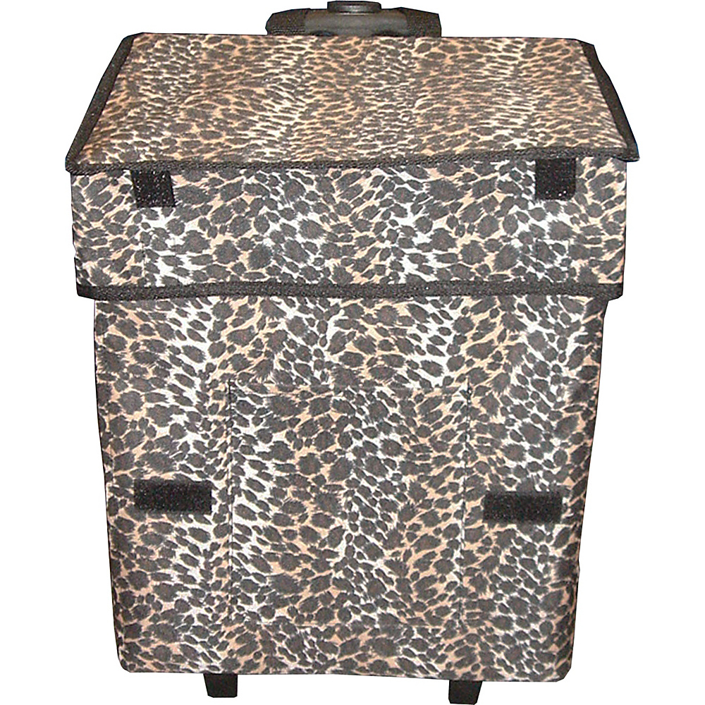 dbest products Gone Wild Cart Leopard Pattern - dbest products Luggage Accessories