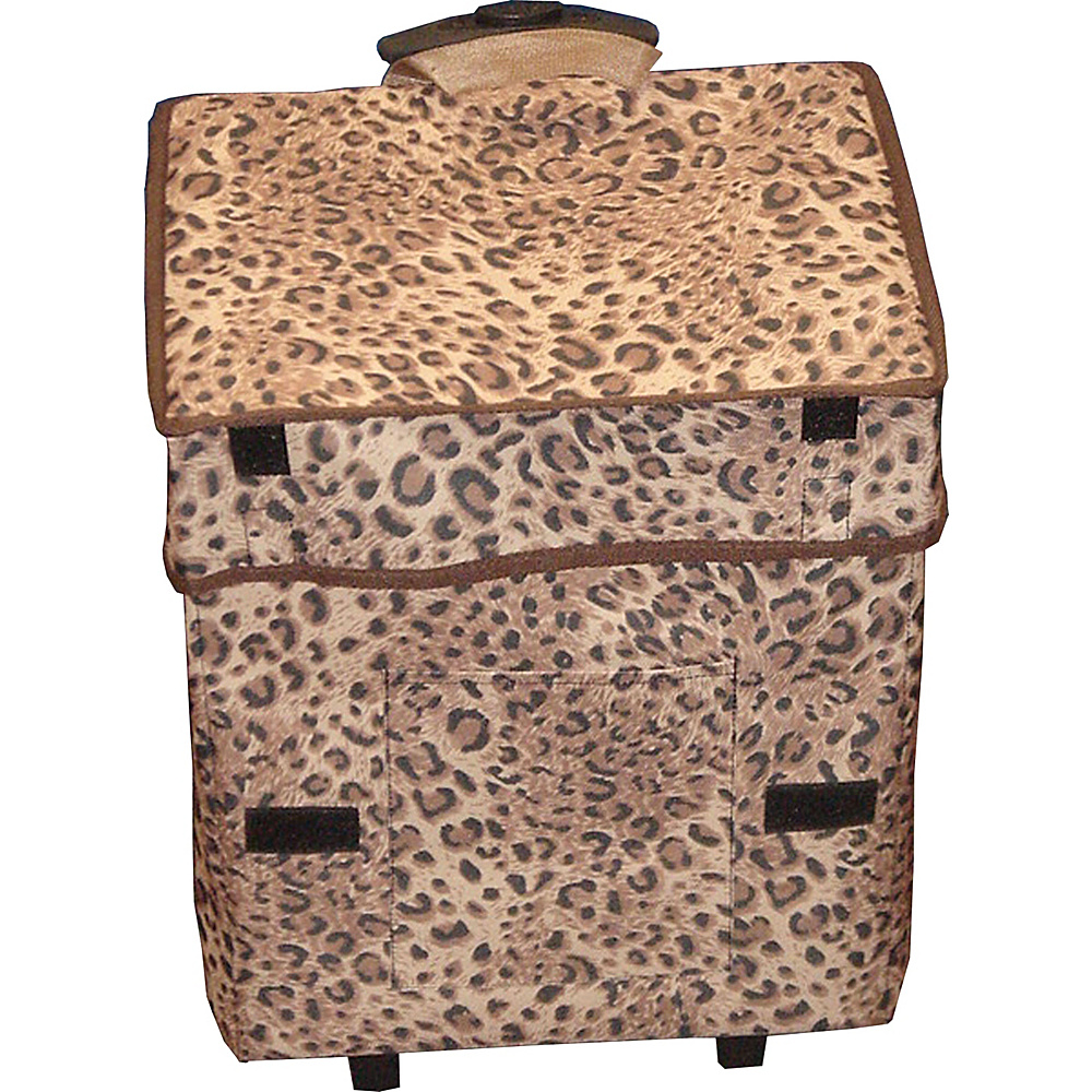 dbest products Gone Wild Cart Cheetah Pattern - dbest products Luggage Accessories
