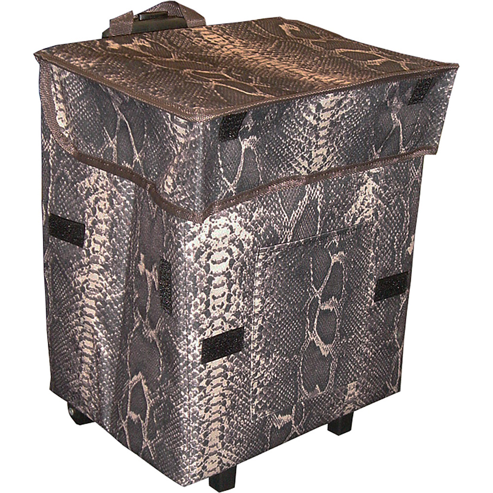 dbest products Gone Wild Cart Snake Pattern - dbest products Luggage Accessories