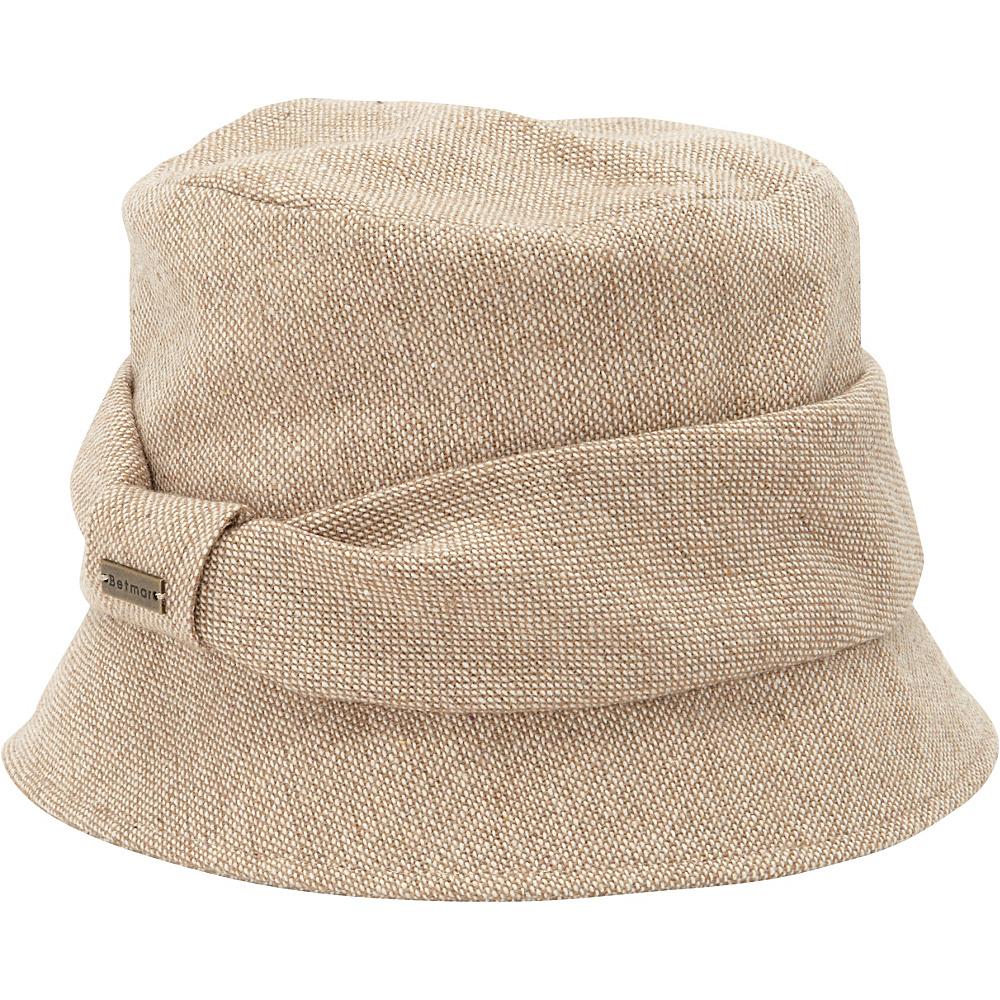 Betmar New York Nell Classic Bucket Camel - Betmar New York Hats/Gloves/Scarves