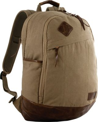 Red Rock Outdoor Gear Austin Backpack Brown Canvas - Red Rock Outdoor Gear Business & Laptop Backpacks