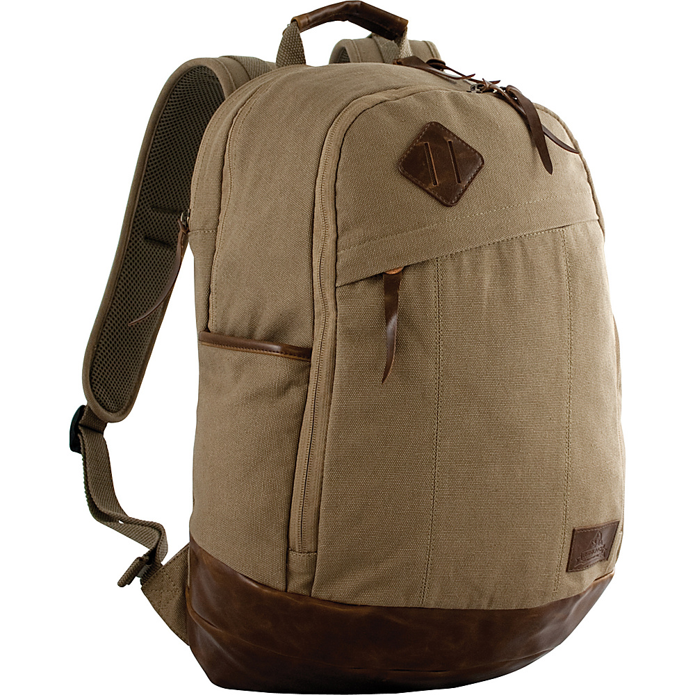 Red Rock Outdoor Gear Austin Backpack Brown Canvas Red Rock Outdoor Gear Business Laptop Backpacks