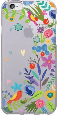 Centon Electronics OTM Clear iPhone 6 Case Floral Prints - Springtime - Centon Electronics Electronic Cases