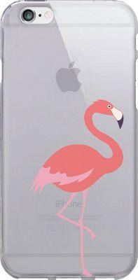 Centon Electronics OTM Clear iPhone 6 Case Critter Prints - Flamingo - Centon Electronics Electronic Cases