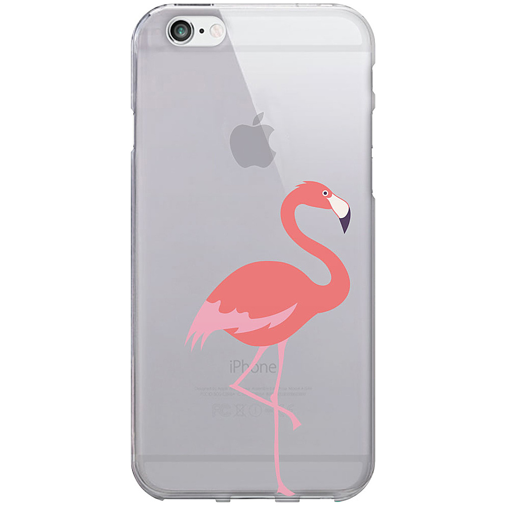 Centon Electronics OTM Clear iPhone 6 Case Critter Prints Flamingo Centon Electronics Electronic Cases