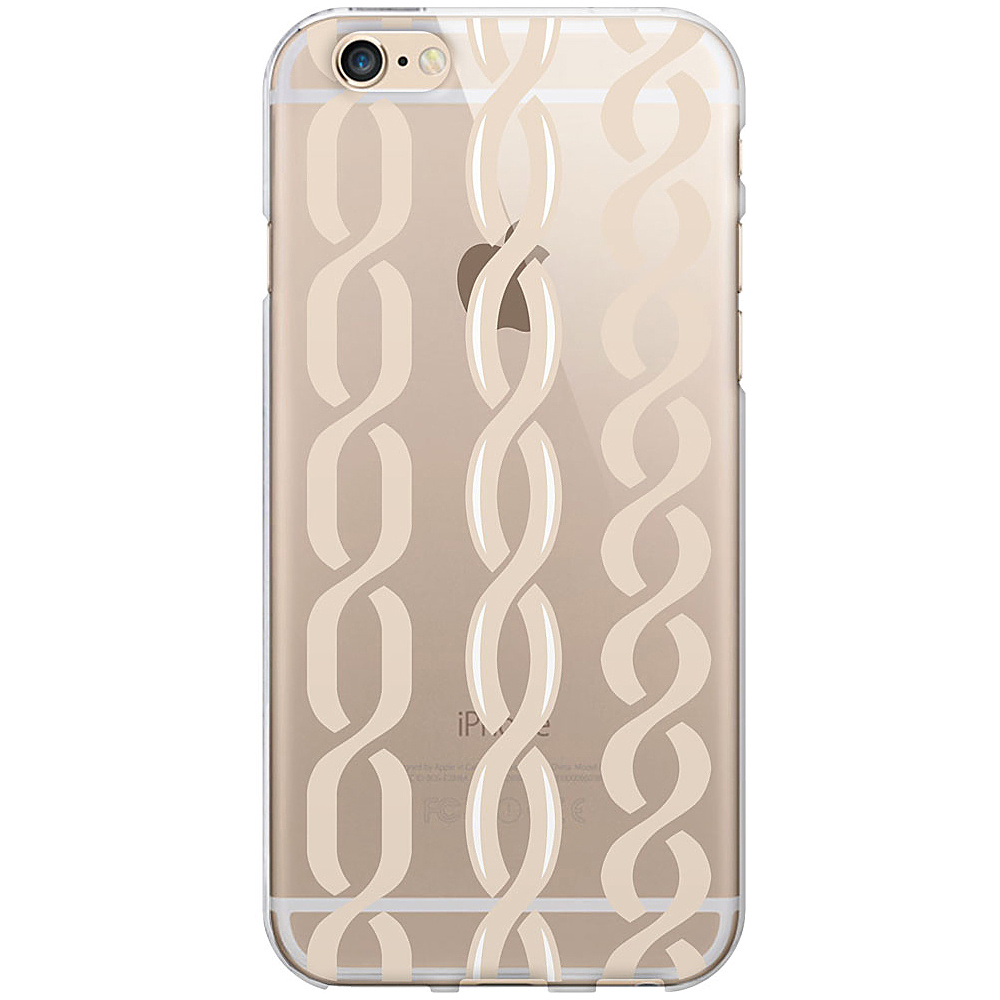 Centon Electronics OTM Clear iPhone 6 Case Hipster Prints Champagne Links Centon Electronics Electronic Cases