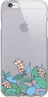 Centon Electronics OTM Clear iPhone 6 Case Floral Prints - Pastel V2 - Centon Electronics Electronic Cases