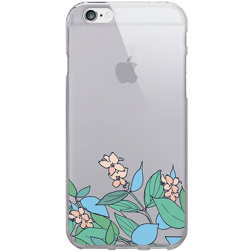Centon Electronics OTM Clear iPhone 6 Case Floral Prints Pastel V2 Centon Electronics Electronic Cases