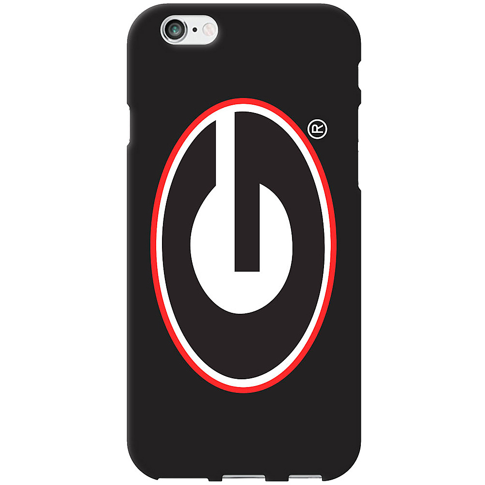 Centon Electronics Classic Black Matte iPhone 6 Case University of Georgia Centon Electronics Electronic Cases