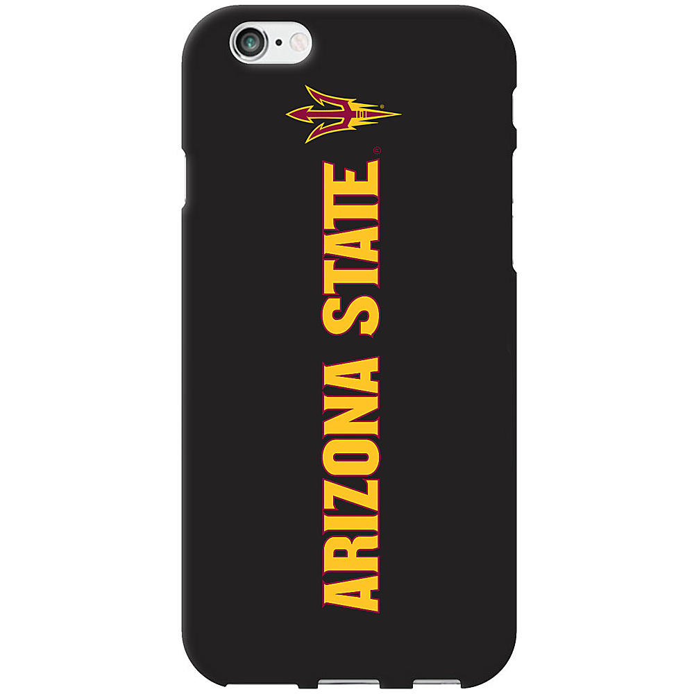 Centon Electronics Classic Black Matte iPhone 6 Case Arizona State University Centon Electronics Electronic Cases