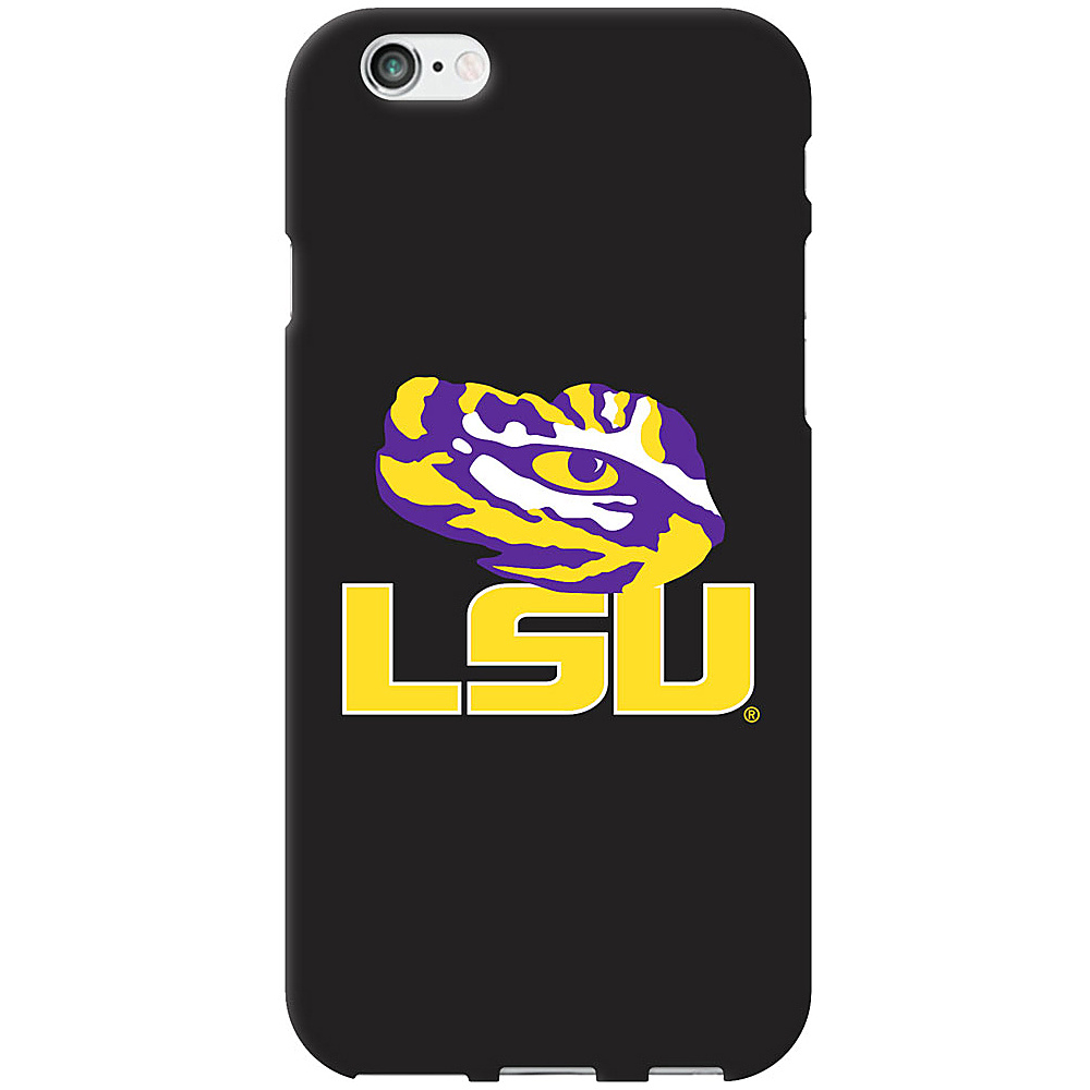Centon Electronics Classic Black Matte iPhone 6 Case Louisiana State University Centon Electronics Electronic Cases