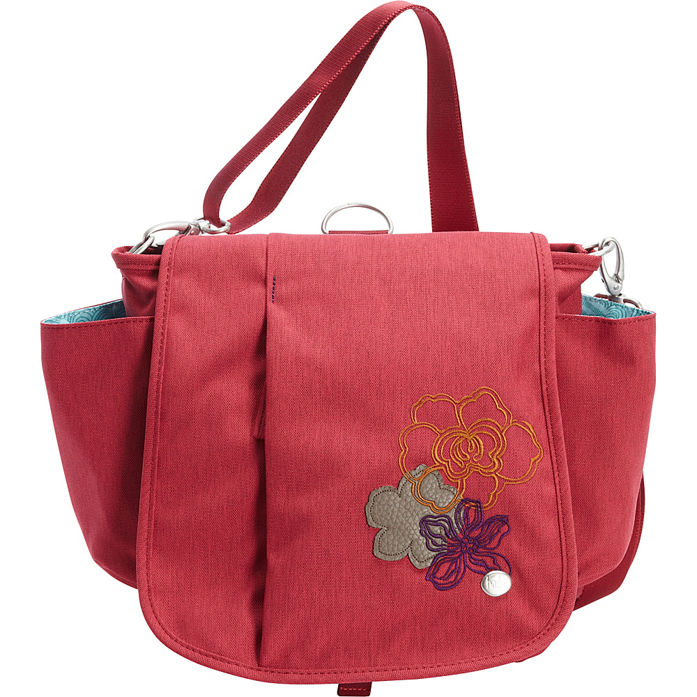 Haiku To Go Convertible Messenger Desert Bloom Haiku Fabric Handbags
