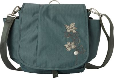 Haiku To Go Convertible Messenger Balsam Green - Haiku Fabric Handbags