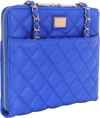 Sandy Lisa St. Tropez Quilted Purse - iPad Air Blue - Sandy Lisa Electronic Cases