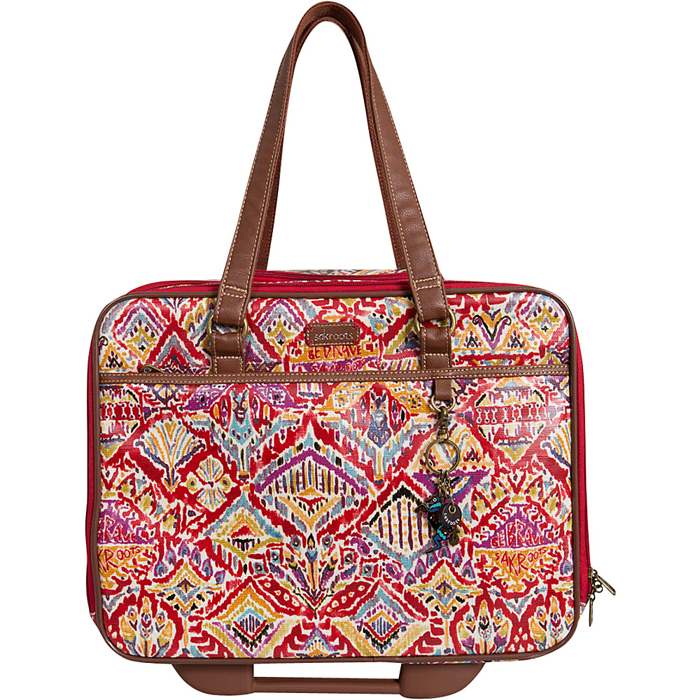 Sakroots Artist Circle Mobile Tote Sweet Red Brave Beauti - Sakroots Luggage Totes and Satchels