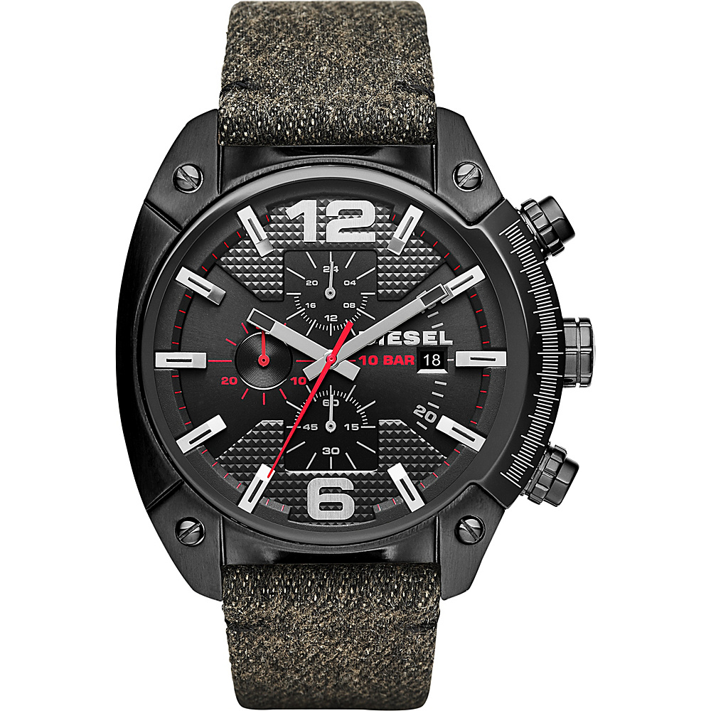 Diesel Watches Overflow Watch Black Diesel Watches Watches