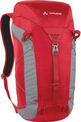 Vaude Minimalist 25 Pack Red - Vaude Day Hiking Backpacks