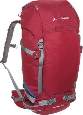 Vaude Simony 40 + 8 Pack Red - Vaude Day Hiking Backpacks